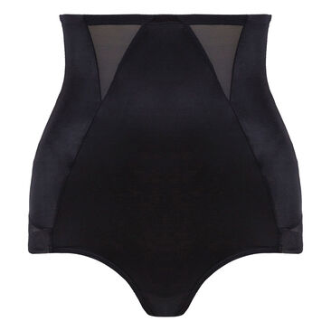 High-Waisted Girdle in Black – Perfect Silhouette-PLAYTEX