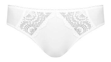 Mini knickers in white – Flower Elegance, , PLAYTEX