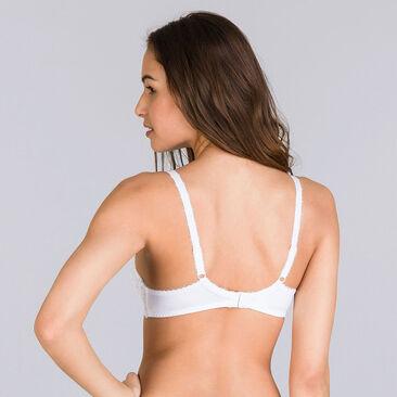 Soutien-gorge emboîtant blanc – Flower Elegance, , PLAYTEX