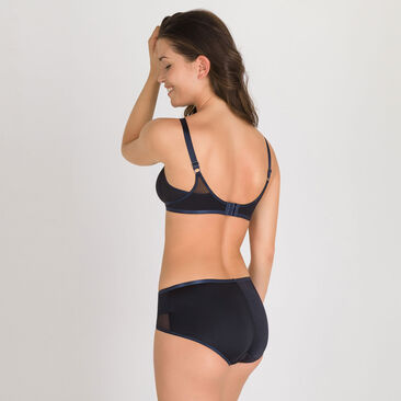 Culotte Midi noire – Ideal Beauty-PLAYTEX