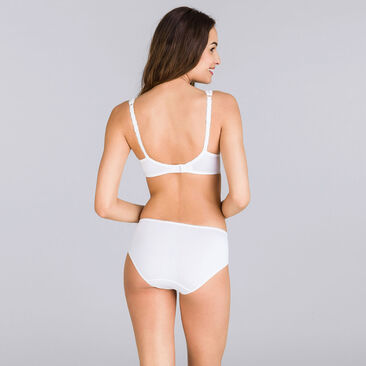 Spacer Bra in White – Flower Elegance-PLAYTEX