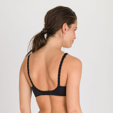 Spacer Bra in Black – Flower Elegance-PLAYTEX