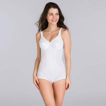 All in one girdle in white – I Can't Believe It's A Girdle-PLAYTEX