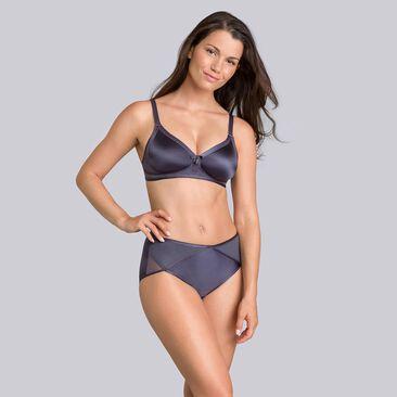 Steel grey midi briefs - Ideal Beauty-PLAYTEX