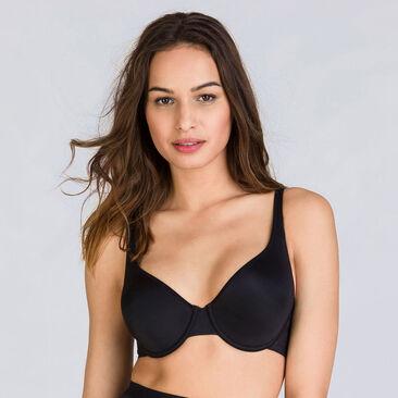 Black underwired bra - Expert in Silhouette-PLAYTEX