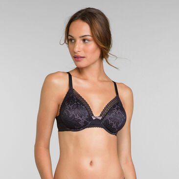 Sujetador invisible triángulo negro - Invisible Elegance, , PLAYTEX