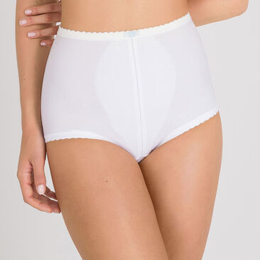 Shaping Brief in White – I Can't Believe It's A Girdle-PLAYTEX