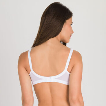 Non-wired Bra in White – Cross Your Heart 556-PLAYTEX