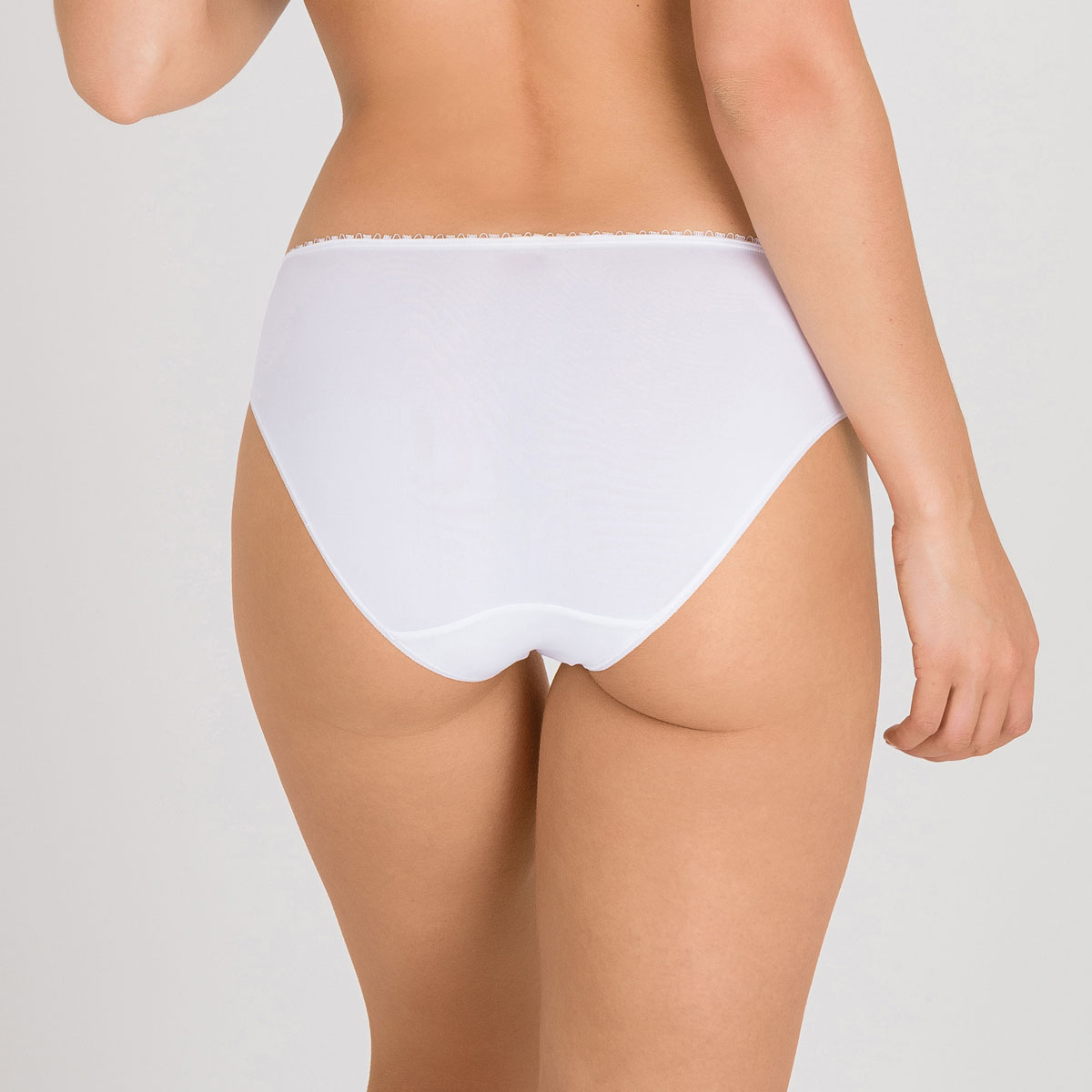 Braga mini blanca Flower Elegance, , PLAYTEX