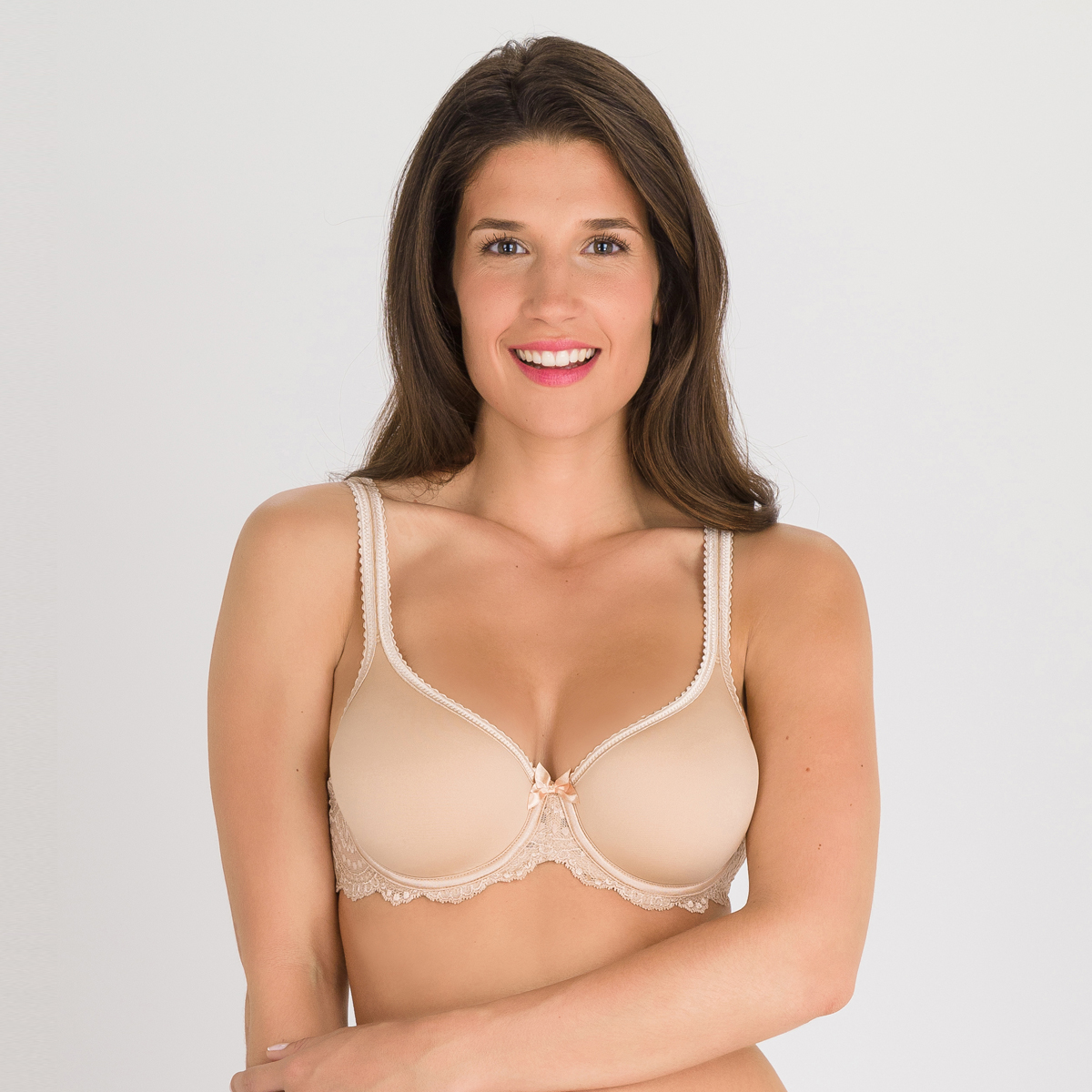 Sujetador spacer beige - Flower Elegance, , PLAYTEX