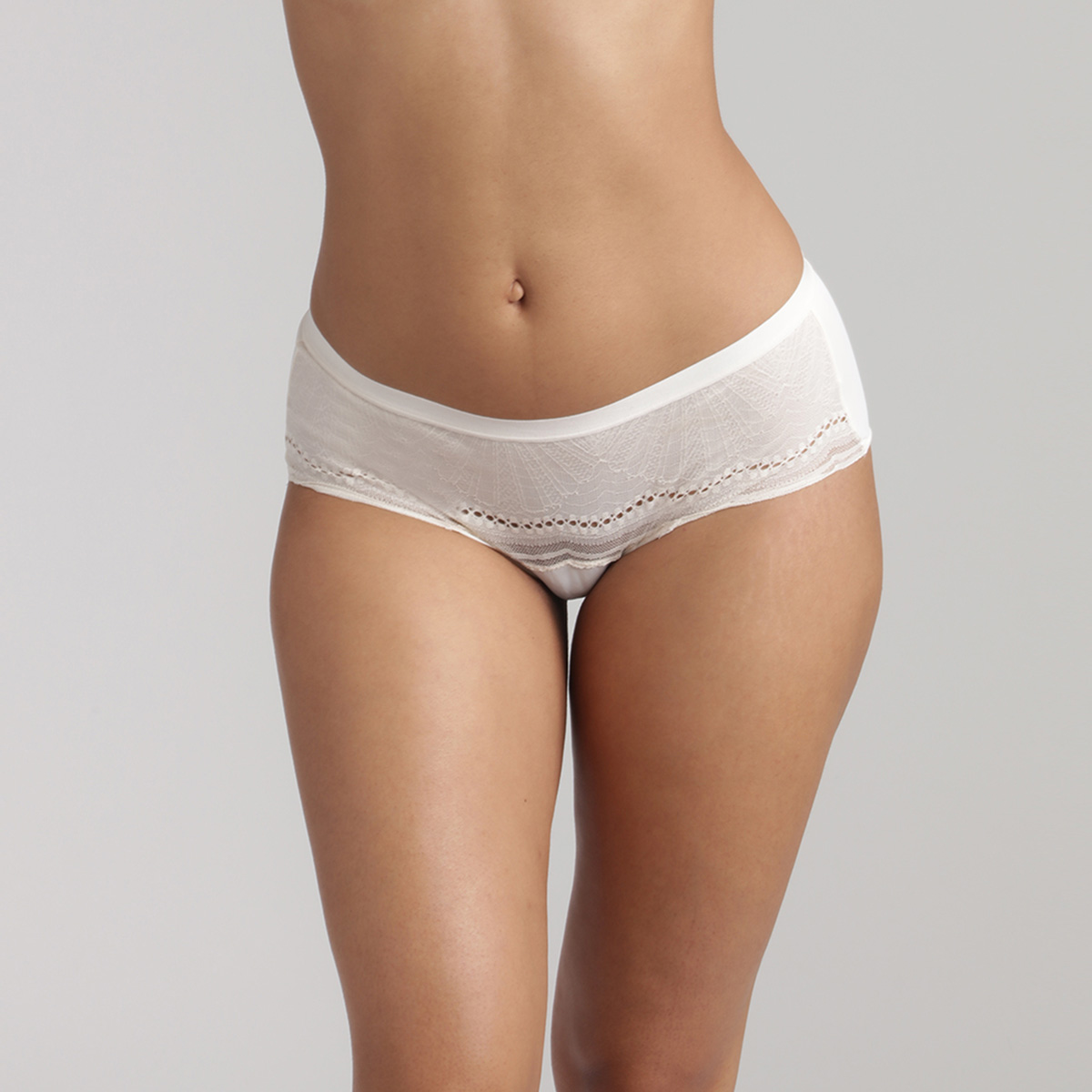 Braga Midi de color marfil Secret Comfort, , PLAYTEX