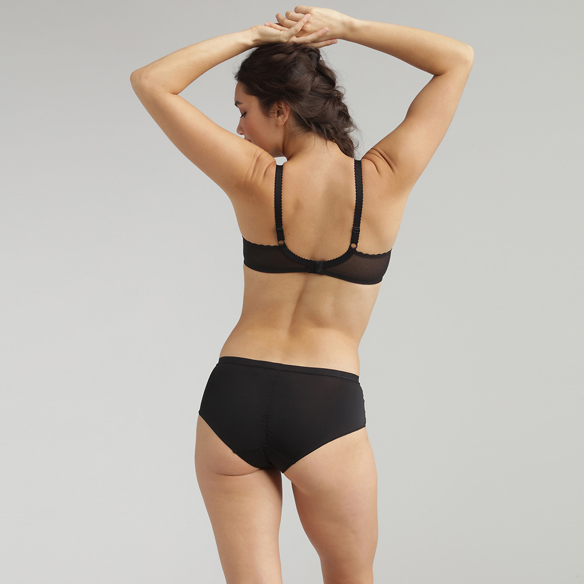Sujetador push-up negro Secret Comfort, , PLAYTEX