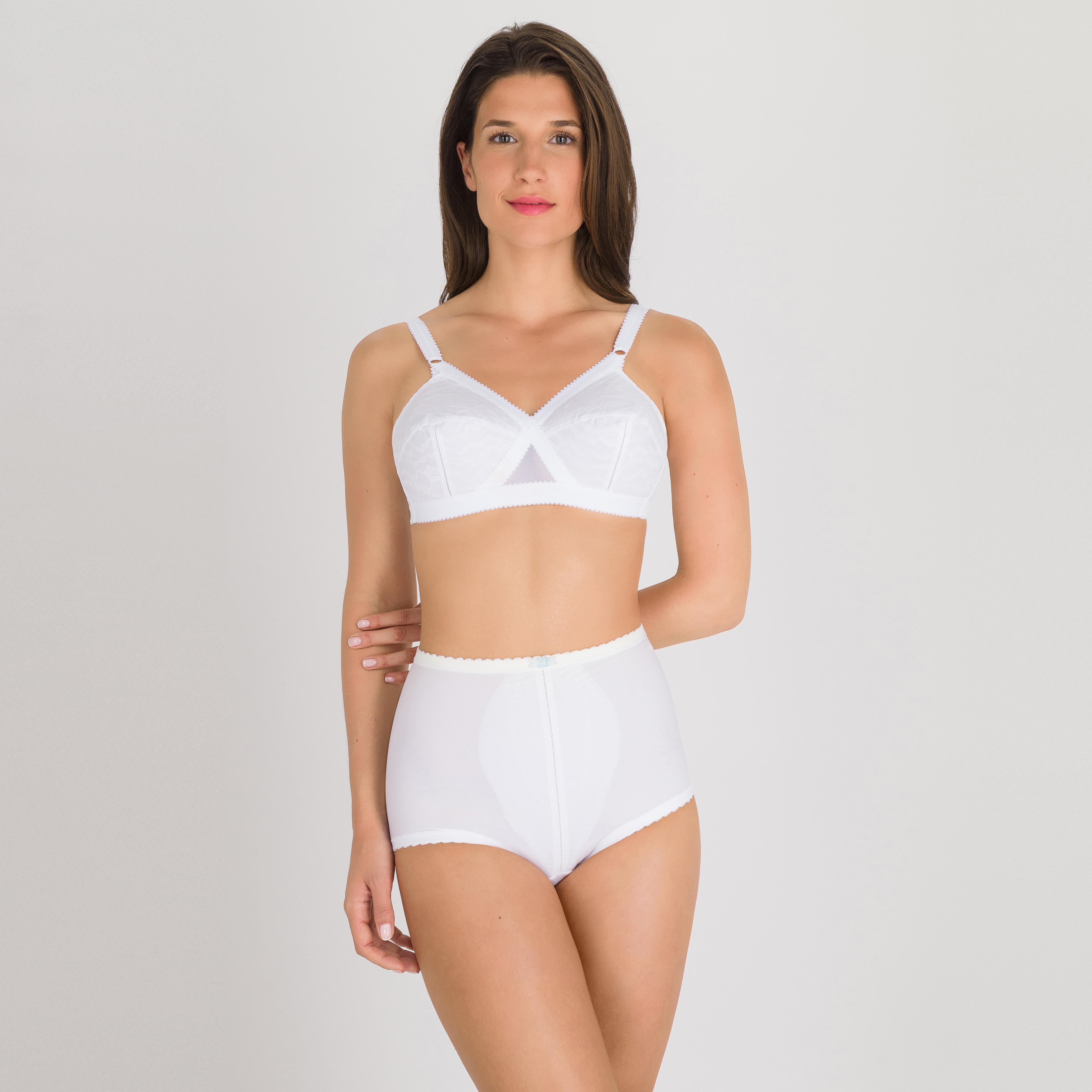 Braga corpiño moldeadora blanca - ICBIAG, , PLAYTEX