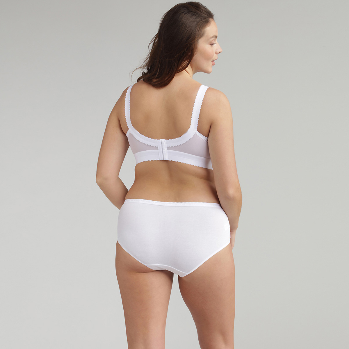 Non-wired Bra in White – Cross Your Heart 556, , PLAYTEX