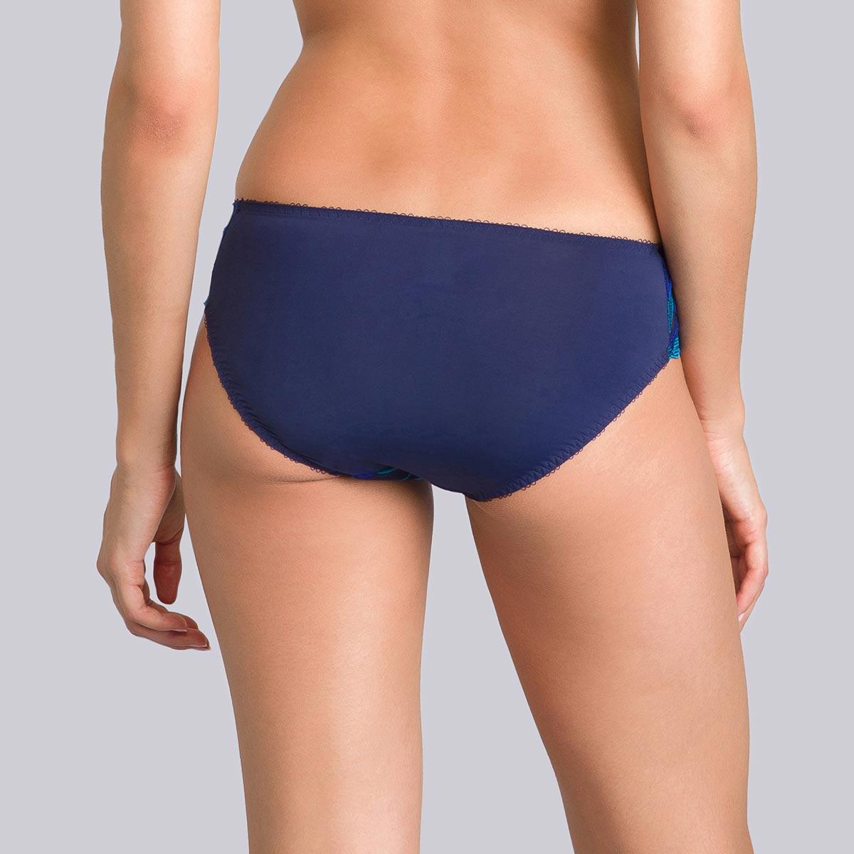 Culotte Mini bleue imprimé vert - Daily Elegance-PLAYTEX
