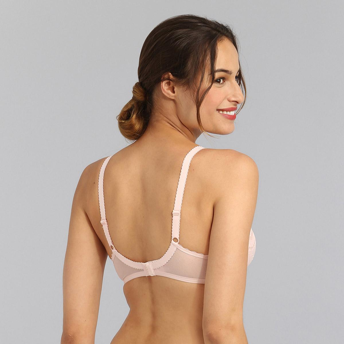 Underwired bra in peach Secret Comfort, , PLAYTEX