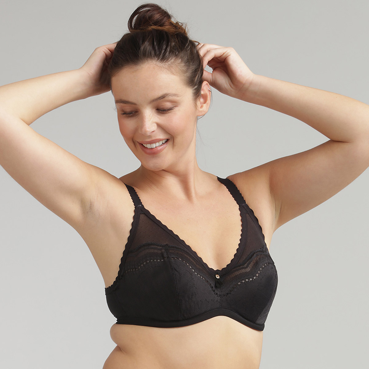 Underwired bra in black - Secret Comfort, , PLAYTEX