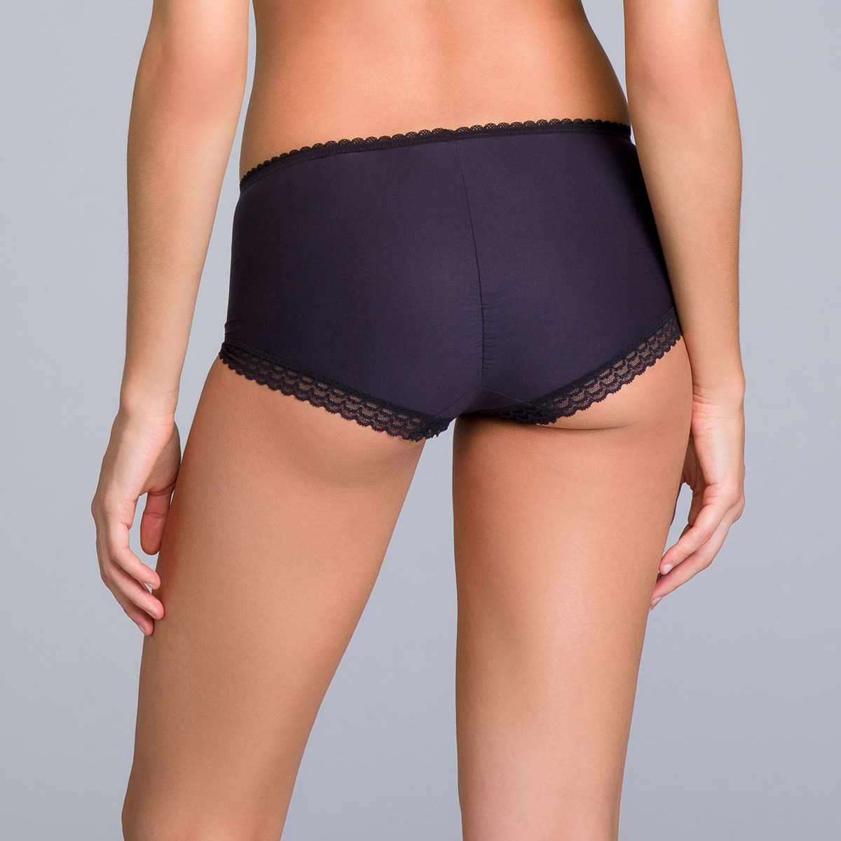 Shorty invisible noir - Invisible Elegance, , DIM
