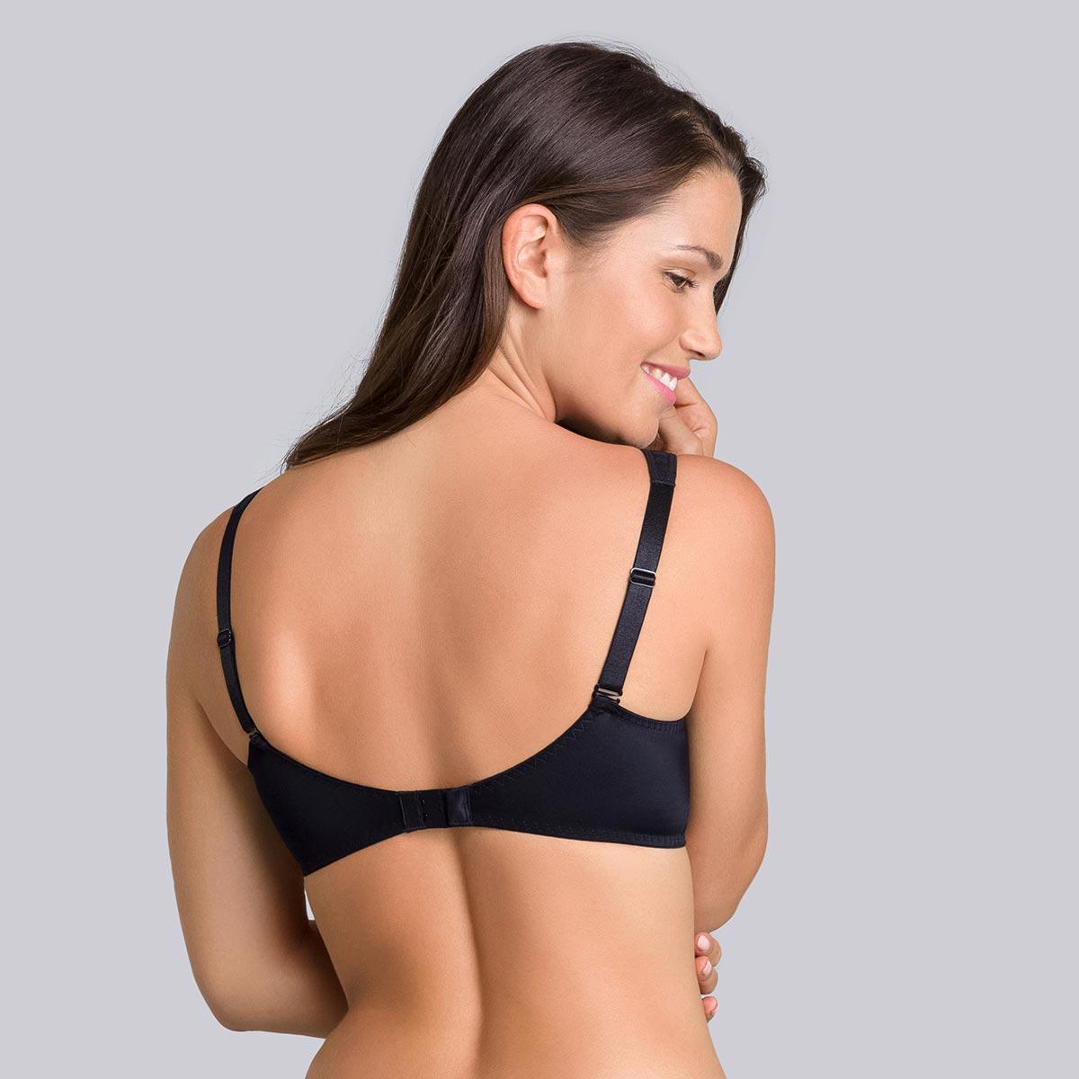 Underwired bra in black - Expert in Silhouette, , PLAYTEX