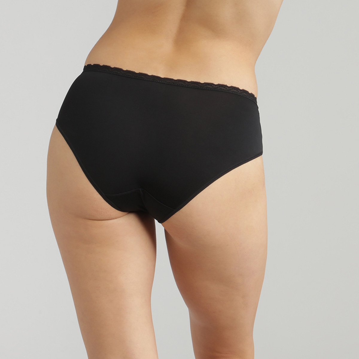 Braga midi negra Ideal Posture , , PLAYTEX