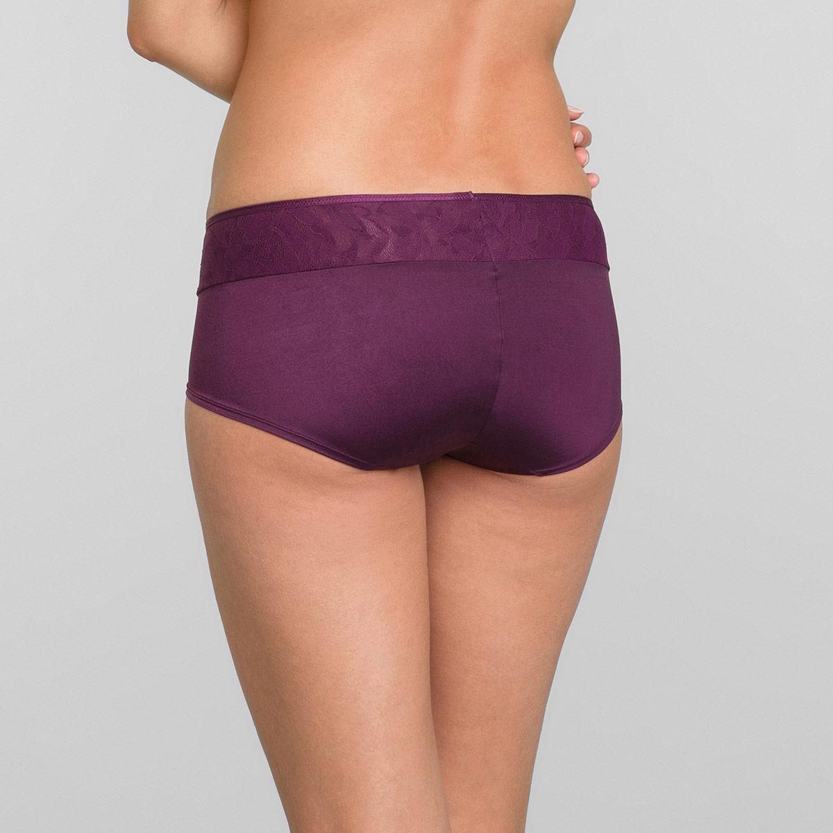 Shorts in Dark Boysenberry Ideal Beauty Lace, , PLAYTEX