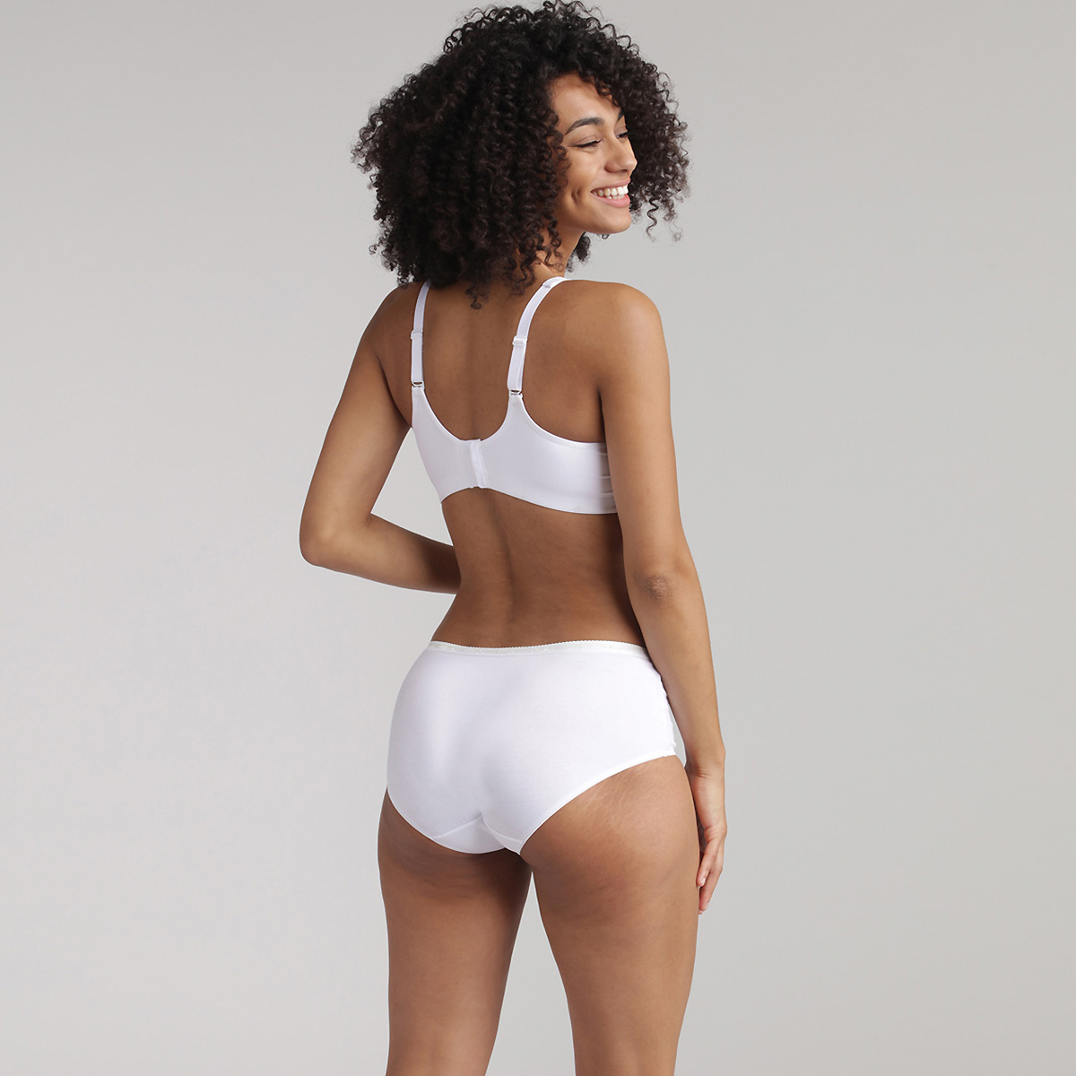 Soutien-gorge sans armatures blanc - Feel Good Support, , PLAYTEX