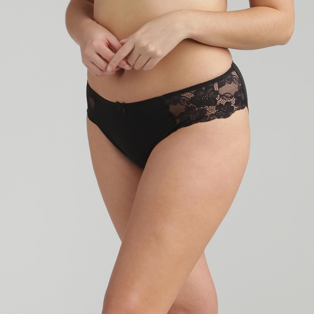 Braga mini de encaje negra Essential Elegance, , PLAYTEX