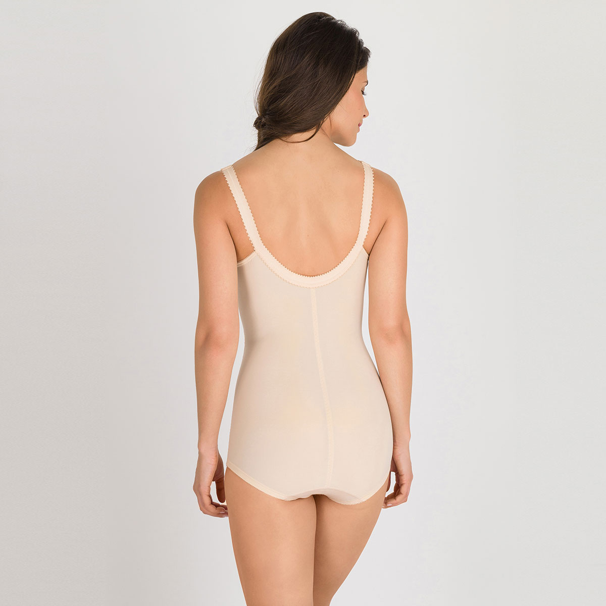All-in-one girdle in beige – I Can't Believe It's A Girdle, , PLAYTEX