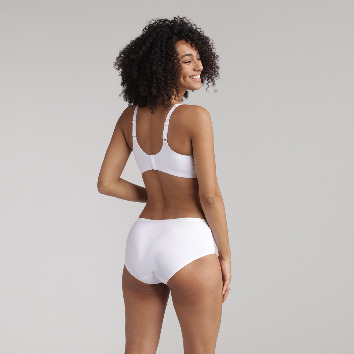 Sujetador sin aros blanco - Feel Good Support, , PLAYTEX