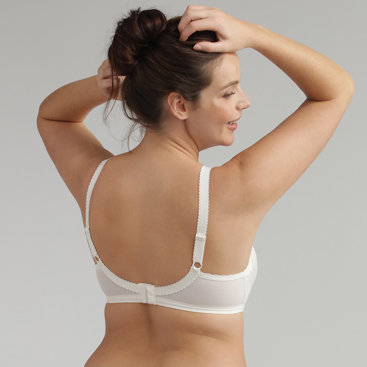 Sujetador con aros blanco Secret Comfort, , PLAYTEX