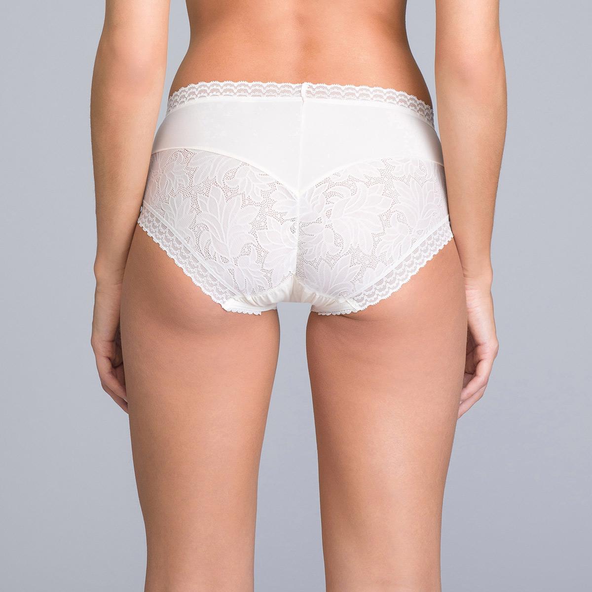Culotte couvrante Midi blanche ivoire - Invisible Elegance, , DIM
