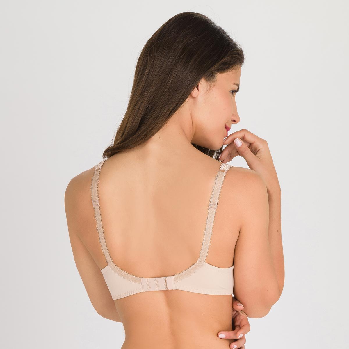 Non-wired Spacer Bra in Nude – Flower Elegance, , PLAYTEX