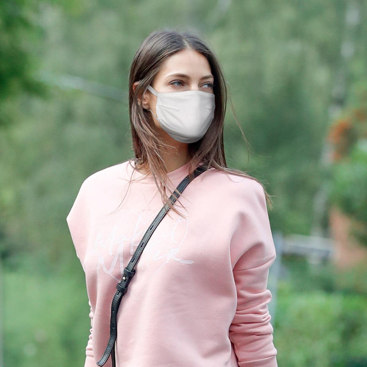 Lot de 5 masques barrières 100% coton, , PLAYTEX
