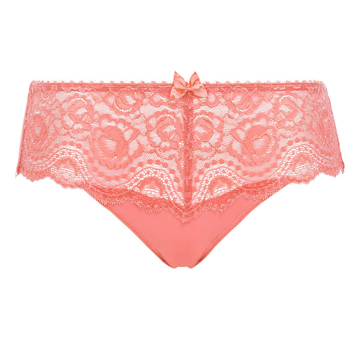 Culotte dentelle Midi orange cannelle - Flower Elegance, , PLAYTEX