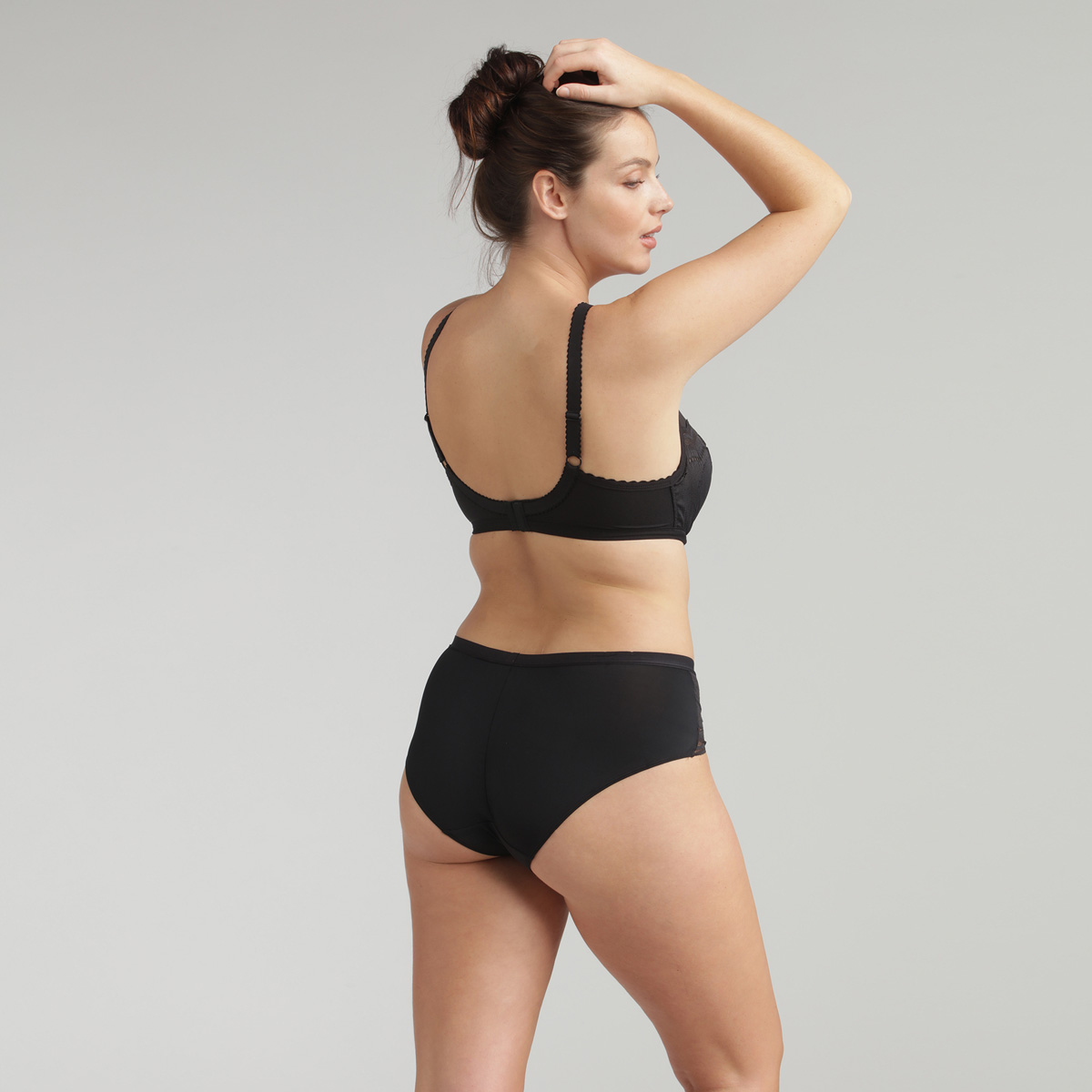 Braga midi negra Secret Comfort, , PLAYTEX