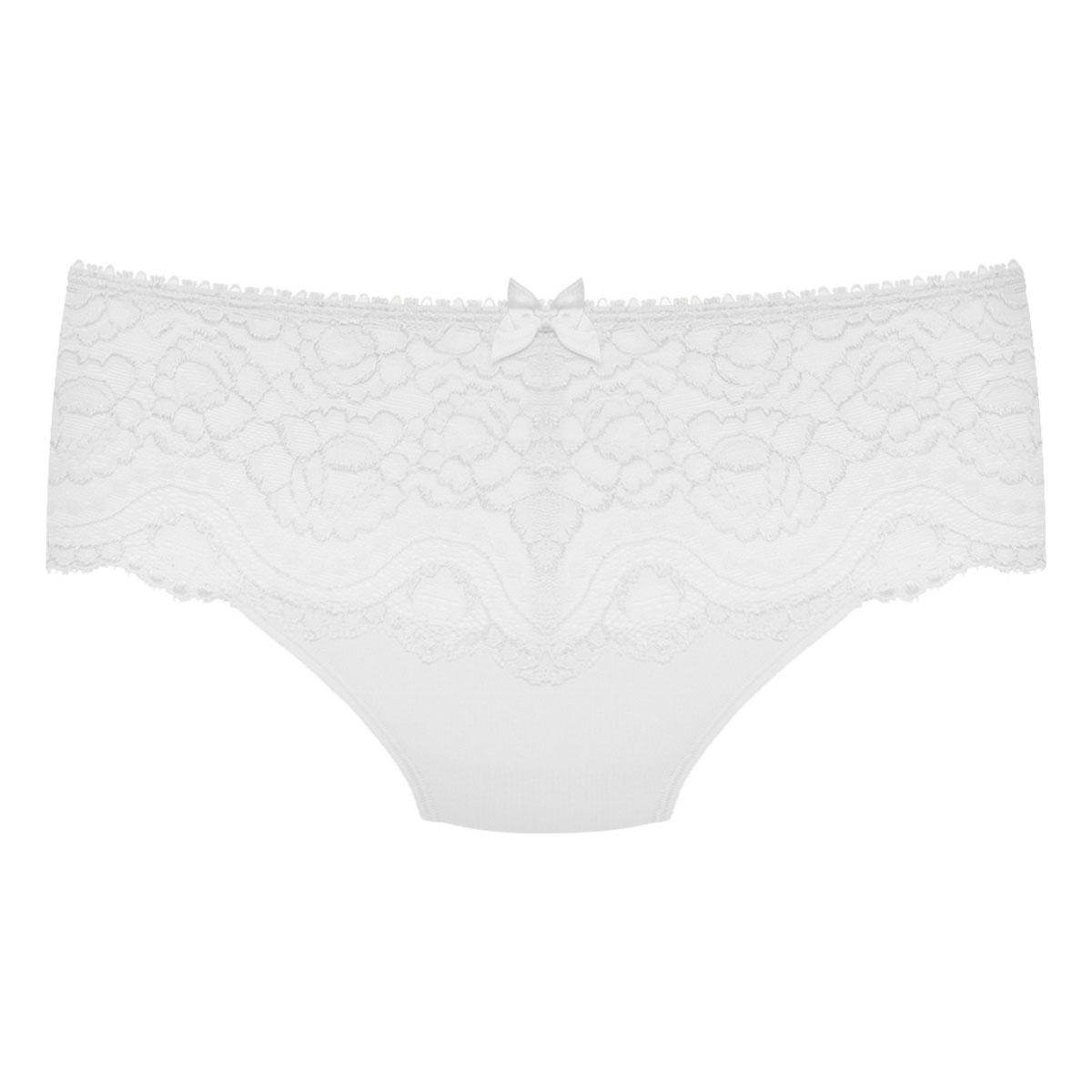 Midi knickers in white – Flower Elegance, , PLAYTEX