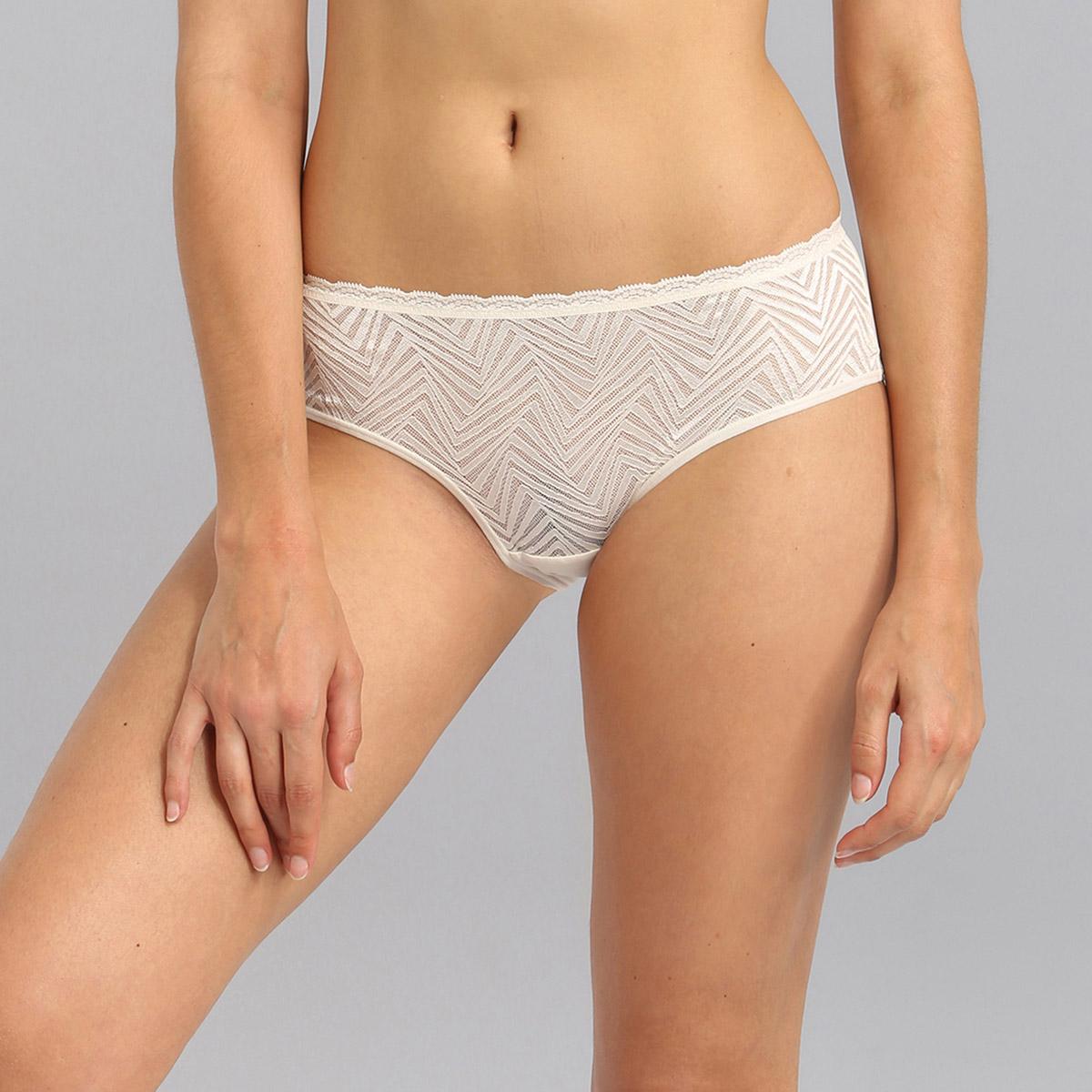 Braguita clasica de encaje marfil Ideal Posture, , PLAYTEX