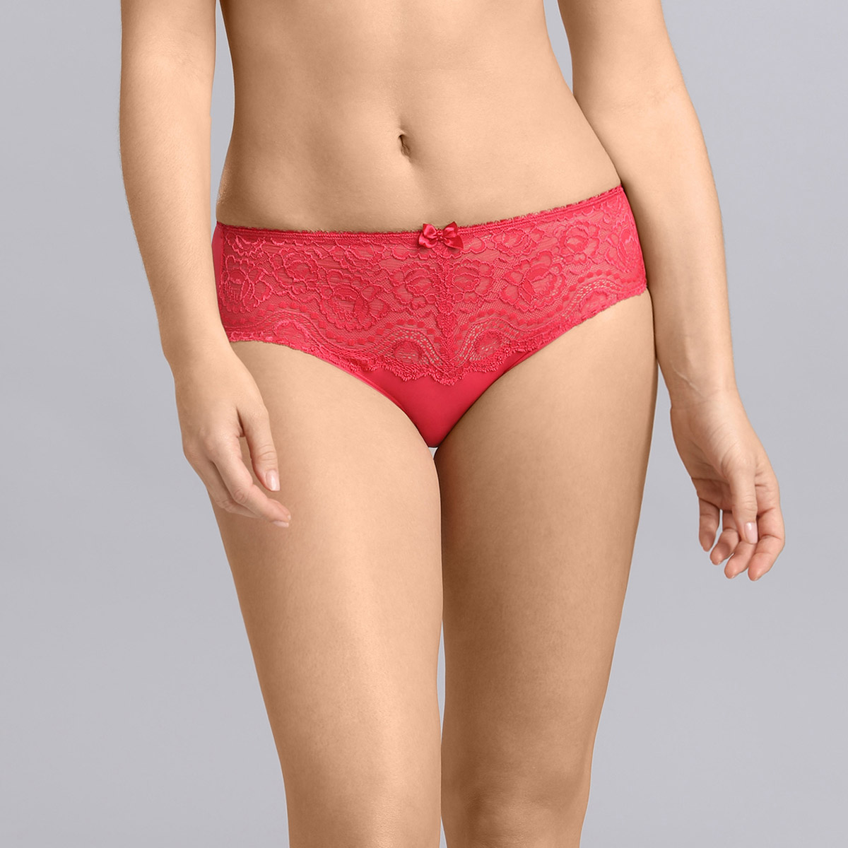 Midi knickers in raspberry Flower Elegance , , PLAYTEX