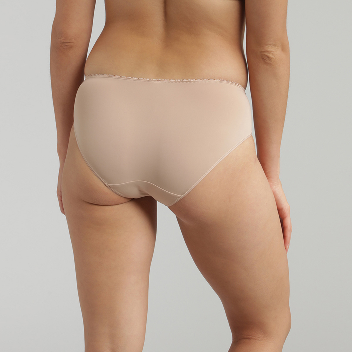 Midi knickers in beige – Flower Elegance, , PLAYTEX