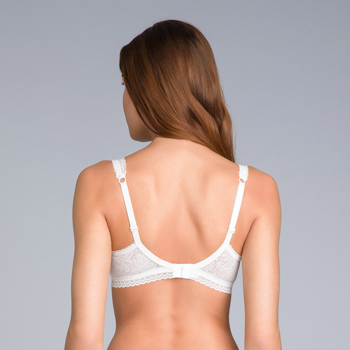 Sujetador invisible balconnet blanco marfil - Invisible Elegance, , PLAYTEX