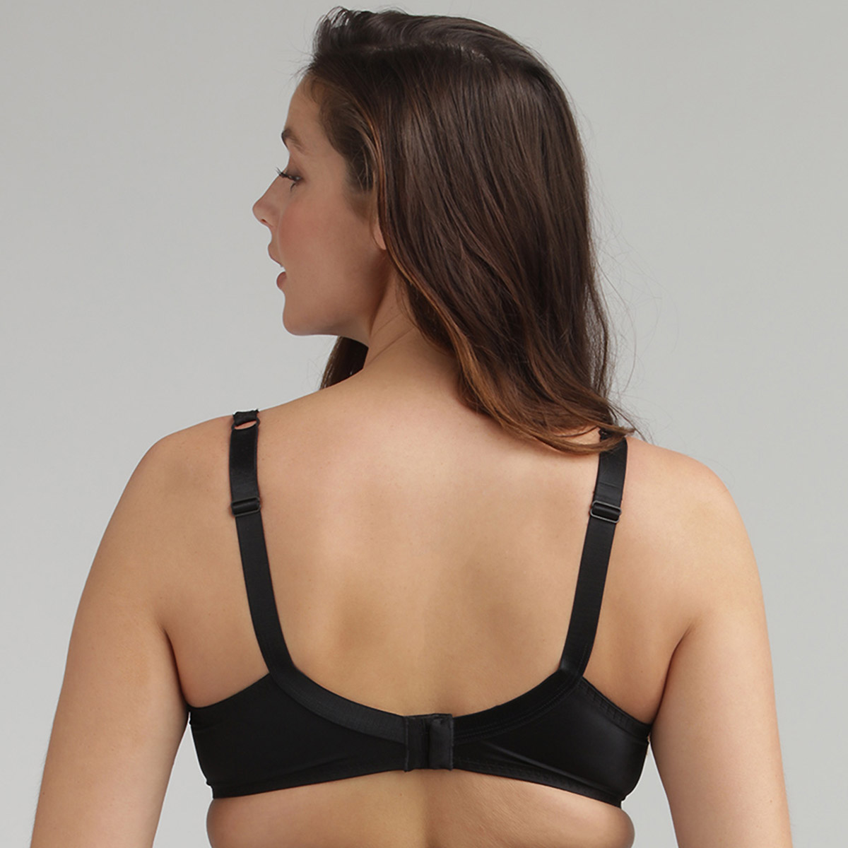 Full Cup Bra in Black – Perfect Silhouette, , PLAYTEX