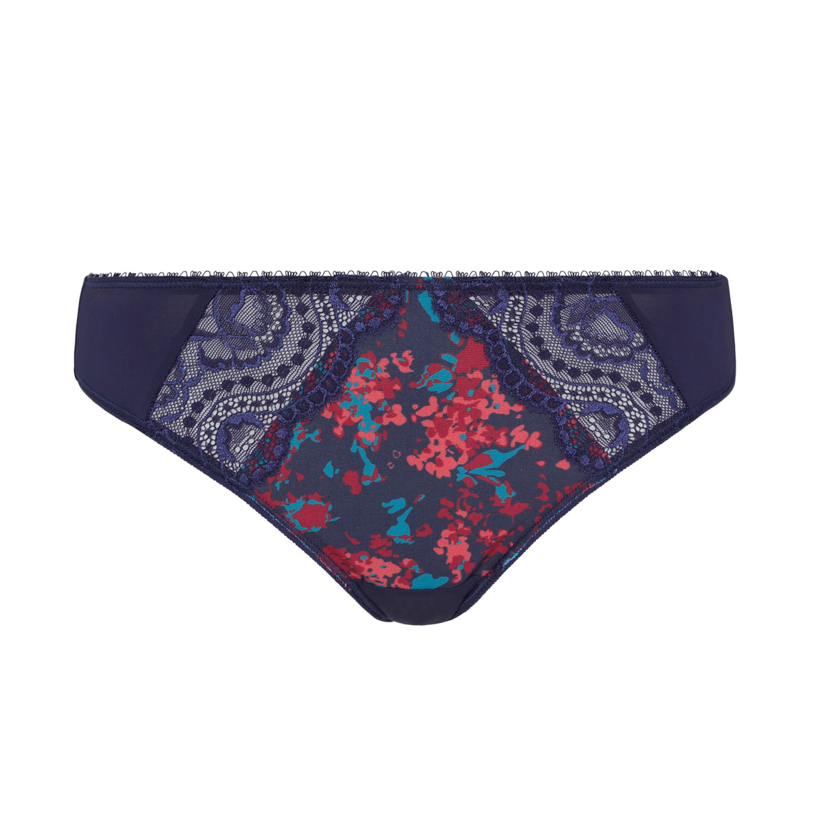 Mini knickers in blue garden print Flower Elegance Micro, , PLAYTEX