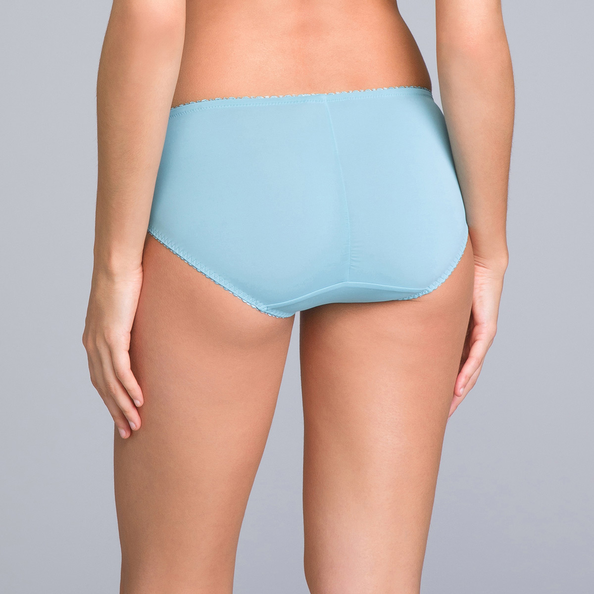 Midi Knickers in Wave Blue Lace - Classic Lace Support - PLAYTEX