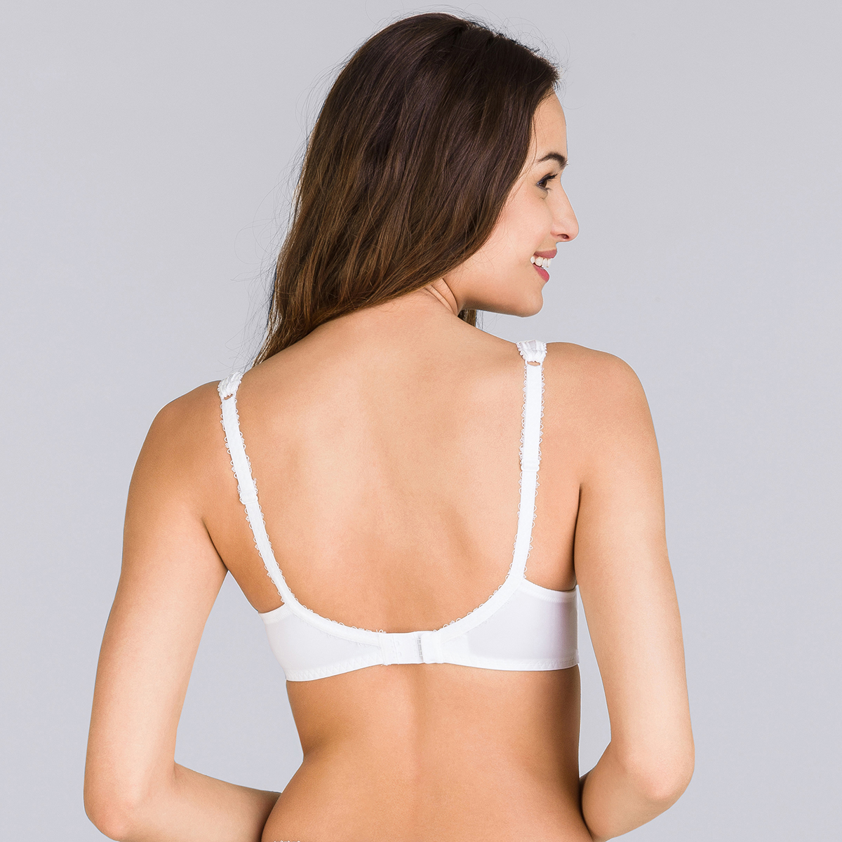 Spacer Bra in White – Flower Elegance, , PLAYTEX