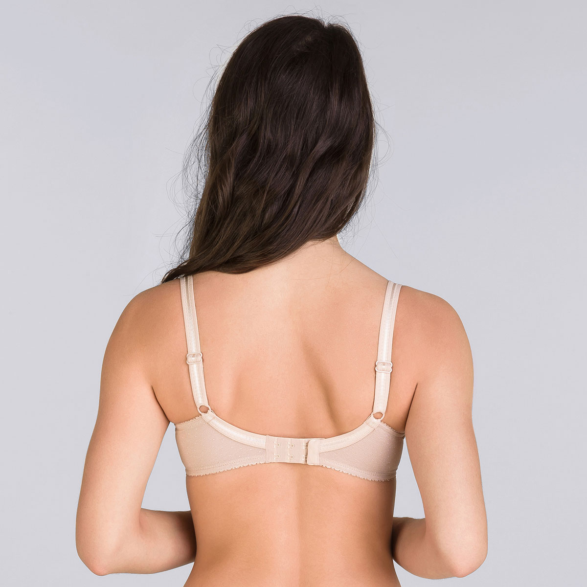 Full cup bra in beige Classic Micro Support, , PLAYTEX