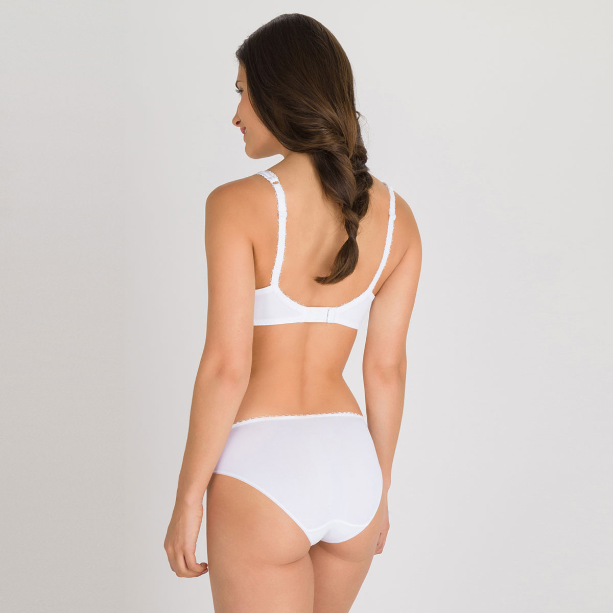 Soutien-gorge spacer sans armatures blanc  - Flower Elegance-PLAYTEX