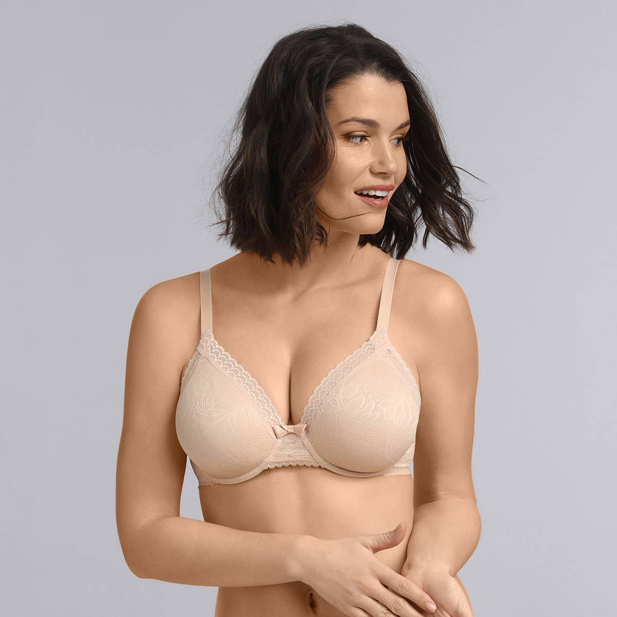 Sujetador Triangular Beige Invisible Elegance, , PLAYTEX