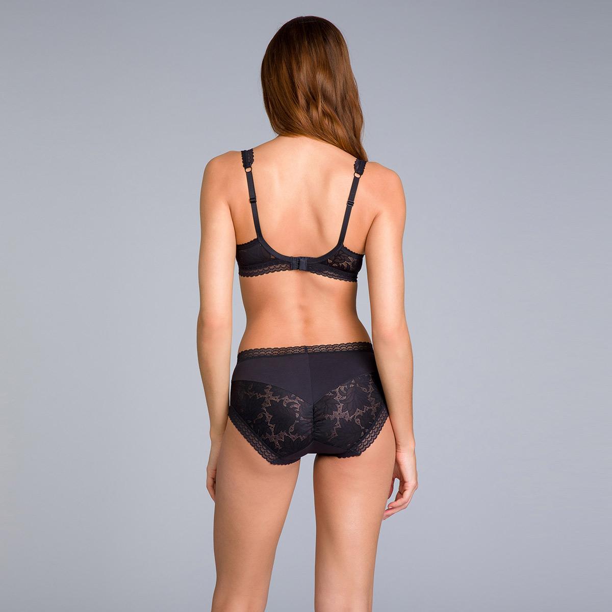 Culotte couvrante Midi noire - Invisible Elegance, , PLAYTEX