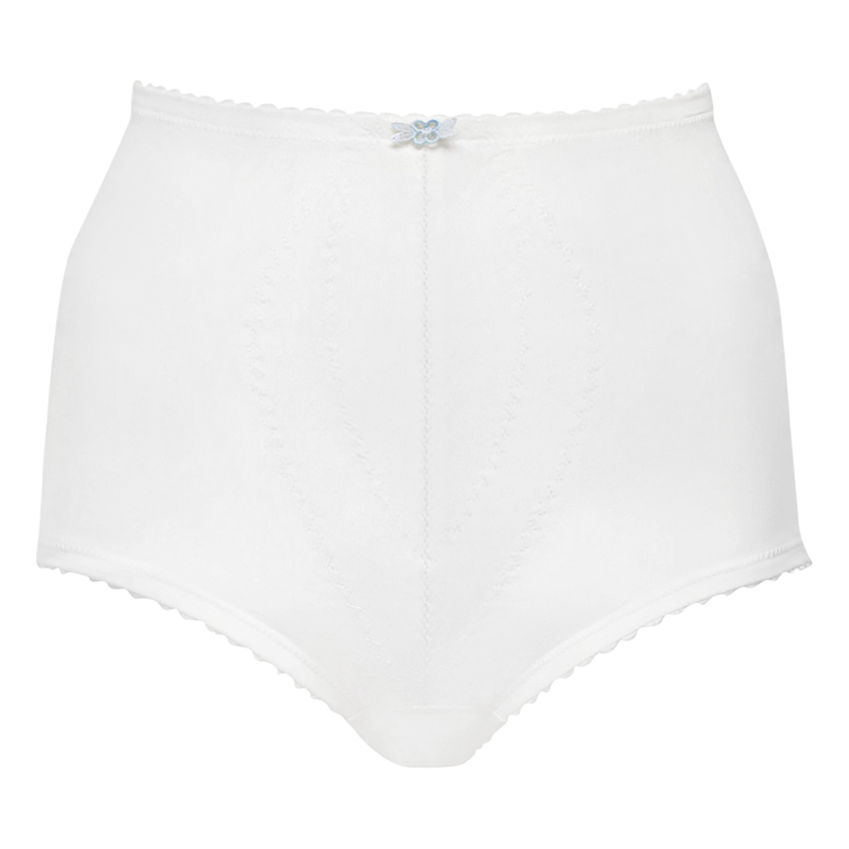 Culotte gainante serre-taille blanche  – ICUG, , PLAYTEX