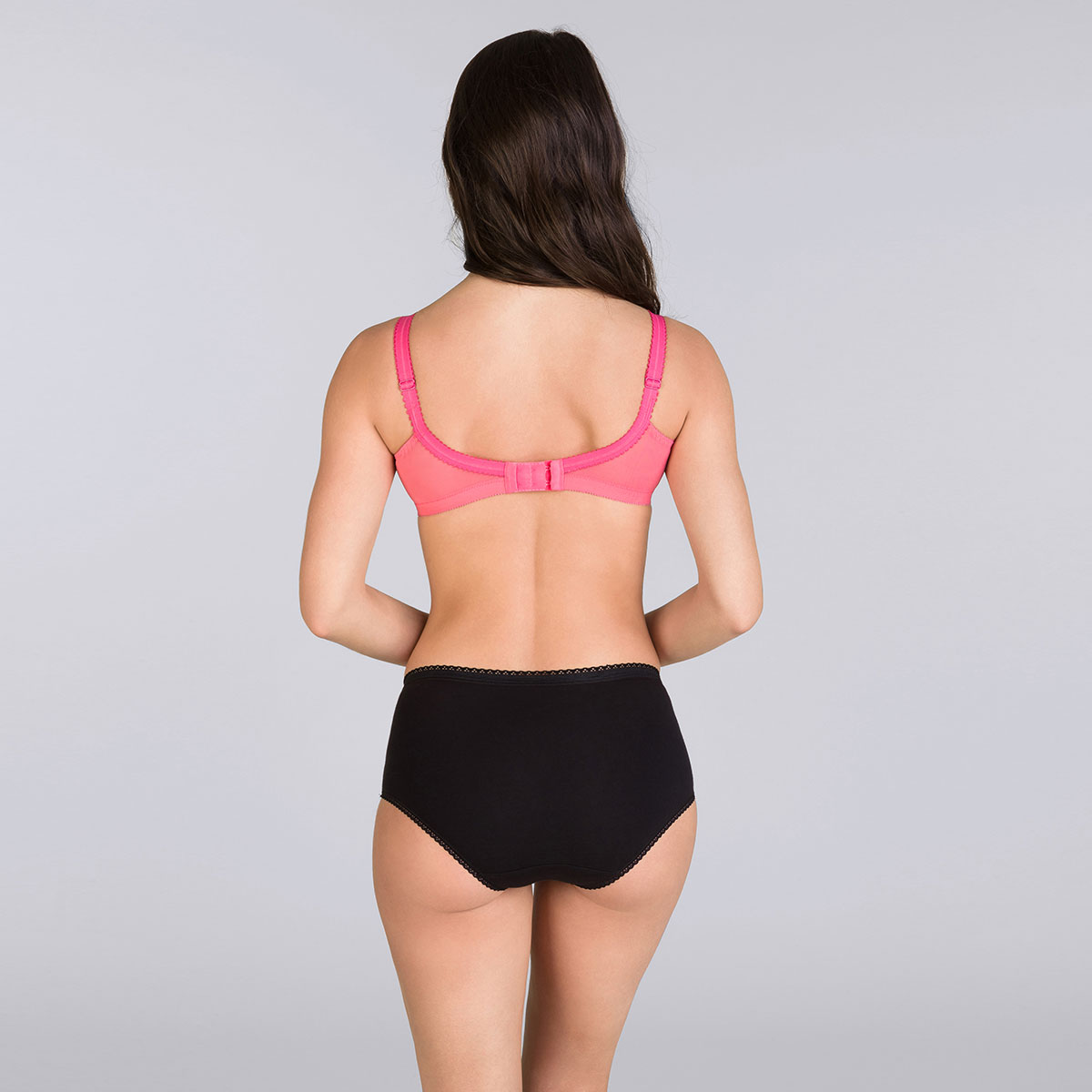Brilliant pink non-wired bra - Cross your Heart 556-PLAYTEX